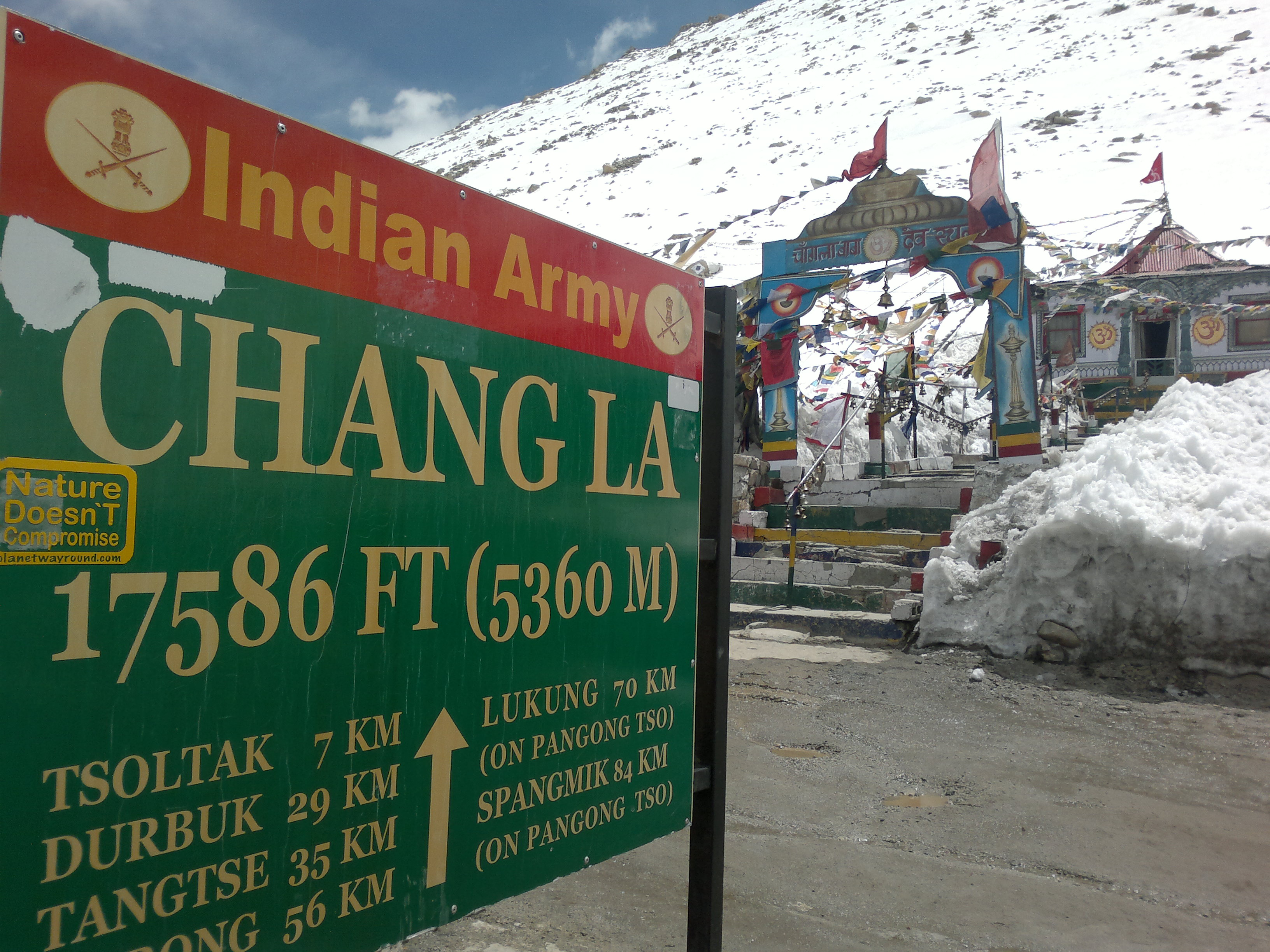 Changa La, Roadtrip to Leh-Ladakh with Heaven Riders India