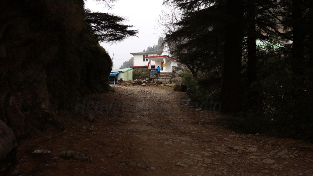 Gallu-Devi-Temple on Triund Trek by Heaven Riders India