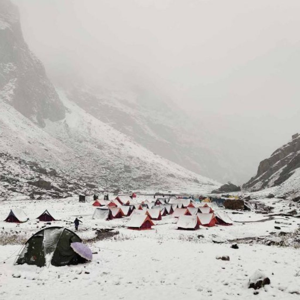 Ballu Ka Ghera Campsite, Hampta Pass Trek with Heaven Riders India