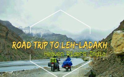 Riders En-Route Leh