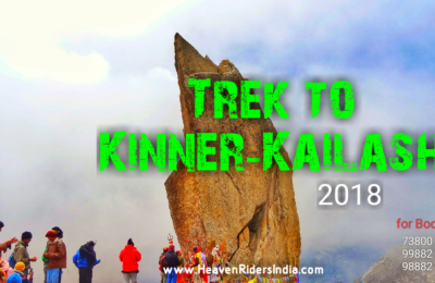 Kinner-Kailash trek