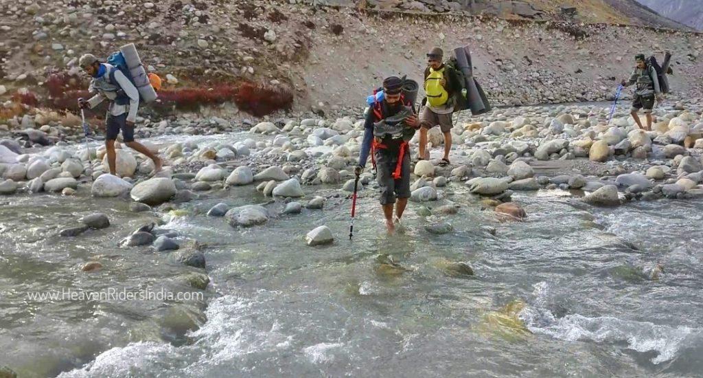 Crossing Parvati River_HRI