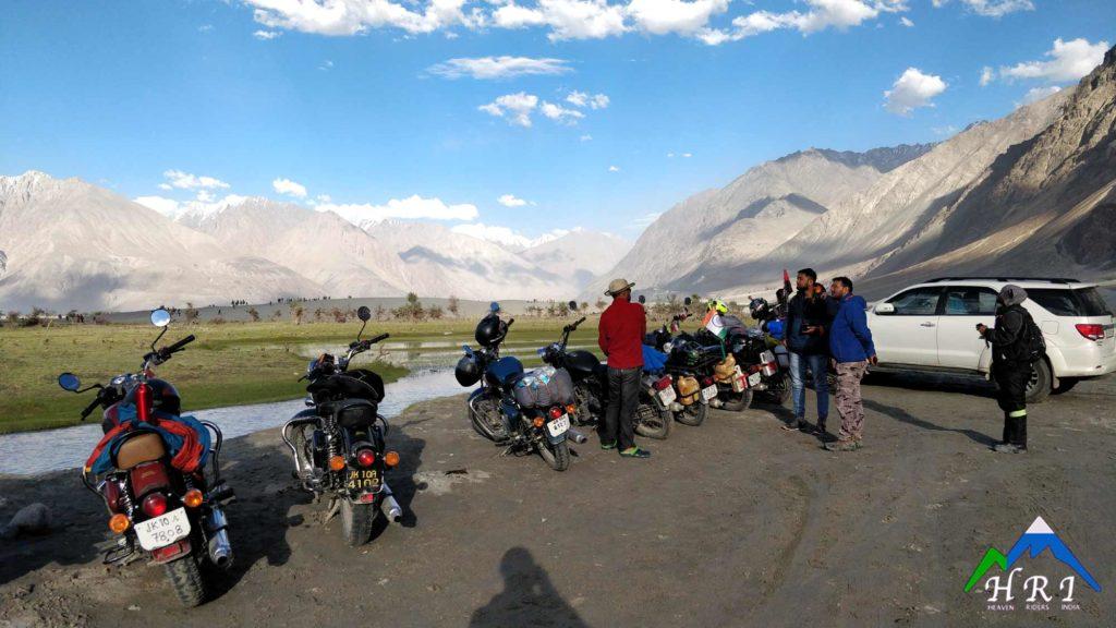 Sand Dunes of Nubra Valley - Heaven Riders India