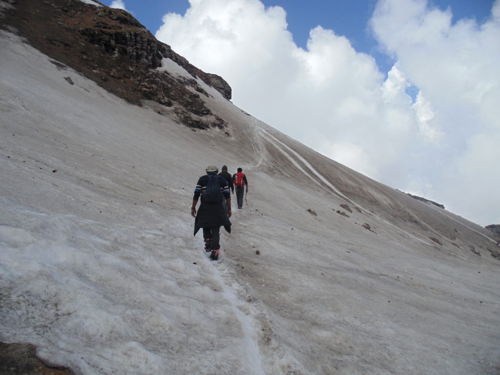 Bhrigu Lake Trek with Heaven Riders India
