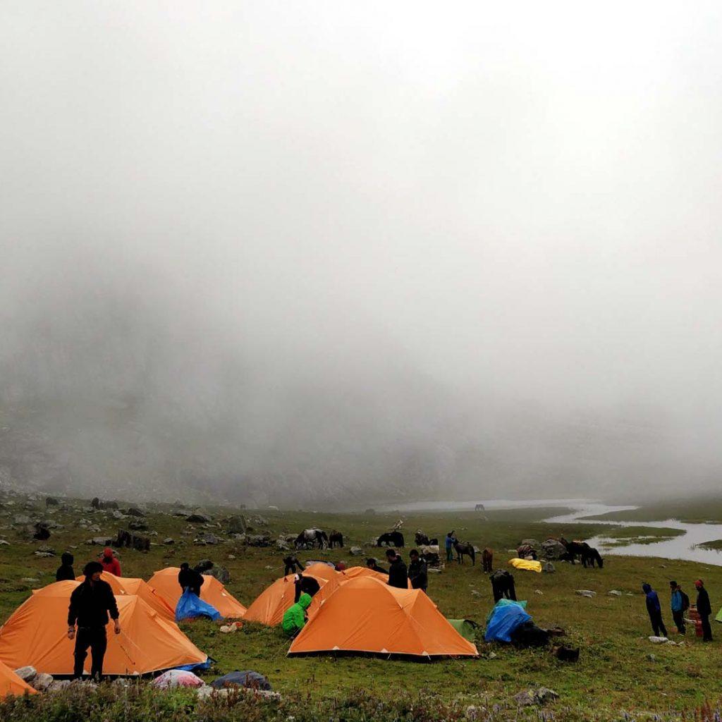 Top five treks in Manali to do in 2020. Deo Tibba Base Camp Trek