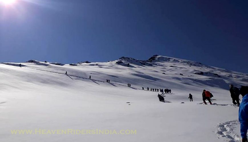 Kedarkantha Trek with Heaven Riders India
