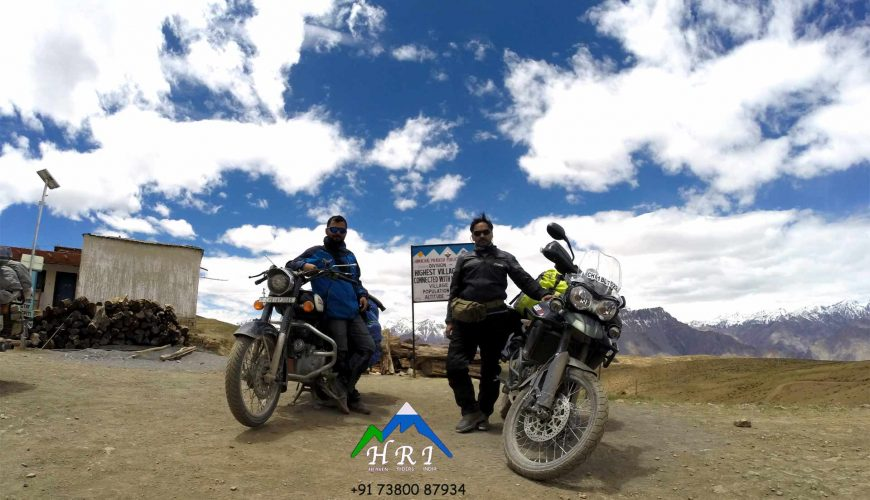 Spiti Bike Trip Heaven Riders India