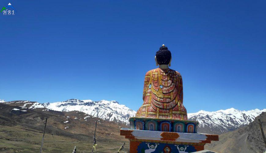 Buddha at Lagnza, Spiti Trip