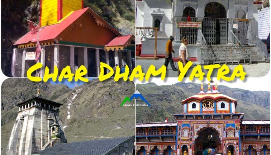 Char Dham Yatra with Heaven Riders India